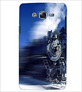 PrintDhaba Train D-5062 Back Case Cover for SAMSUNG GALAXY J5 (Multi-Coloured)