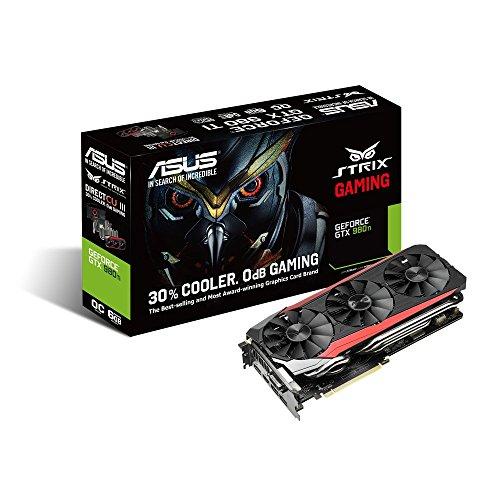 ASUSTek STRIXシリーズ NVIDIA GeForce GTX980Ti搭載ビデオカード オーバークロック メモリ6GB STRIX-GTX980TI-DC3OC-6GD5-GAMING -