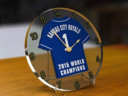 kansas-city-royals-mlb-major-league-baseball-campioni-del-mondo-commemorative-desktop-orologio-da-ba