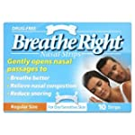 Breath Right Nasal Strips Clear Regul...