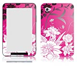 Bundle Monster Samsung Galaxy Tab 7.0 Vinyl Skin Cover Art Decal Sticker Protector Accessories - Pink Garden