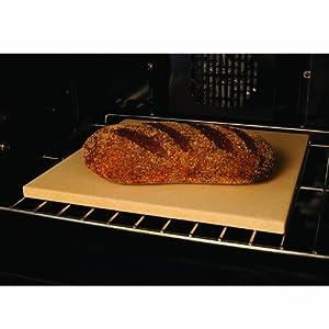 """Pizzacraft 15"""" Square Cordierite Baking/Pizza Stone - PC0100"""