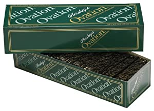 Hershey's Ovation Dark Chocolate Mint Sticks, 35.2-Ounce Package