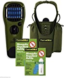 Thermacell Camper's Kit : Mosquito Repellent Appliance Olive, Holster Olive+ 2 single refills