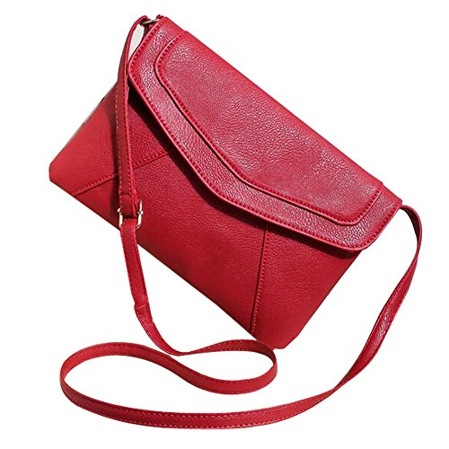 Oulifa Women's Messenger Shoulder Crossbody Bag Envelope Small Clutch