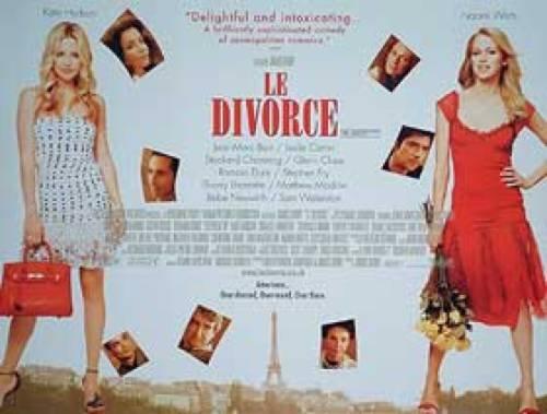 Le Divorce Kate Hudson Naomi Watts Poster