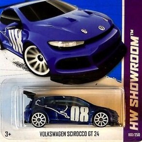 2013 Hot Wheels Hw Showroom - Volkswagen Scirocco GT 24