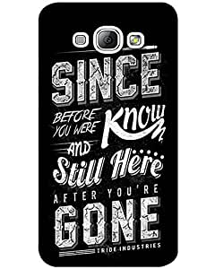 Samsung galaxy A3 Back Cover Designer Hard Case Printed Cover