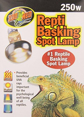 Zoo-Med-SL-250E-Repti-Basking-Spot-Strahler-250-Watt-fr-Wrme-und-Licht-im-Terrarium