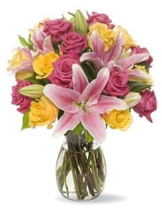 Big Blooms - With Vase