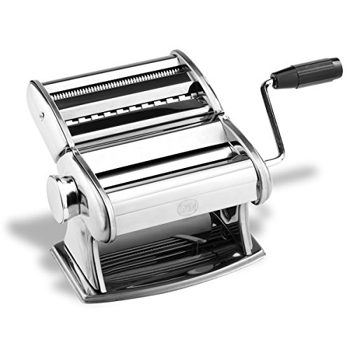 G&M Professional Pasta Maker Machine with Hand Crank (Imperial Pasta Machines compare prices)