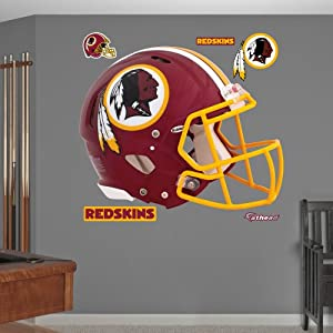 NFL Washington Redskins Helmet Wall Graphics by Fathead
