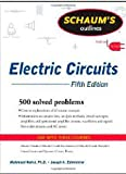 img - for Schaum's Outline of Electric Circuits, Fifth Edition (Schaum's Outline Series) book / textbook / text book