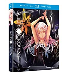 Guilty Crown: Complete Series, Part 2 (Blu-ray/DVD Combo)