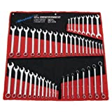 Spanner Set 48pc (Combination - Satin Finish - Pouch) X 4 Packs
