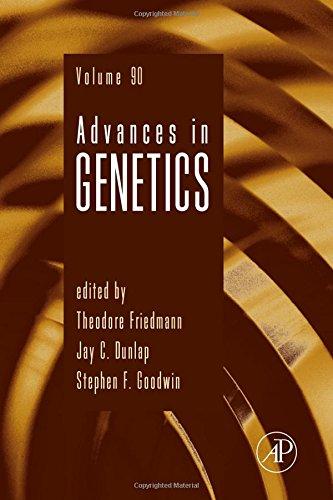 Advances in Genetics, Volume 90 From Academic Press