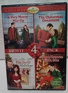 Hallmark Christmas 4 Pk DVD Very Merry Mix-Up Christmas Ornament Hitched Holidays Dance by Hallmark