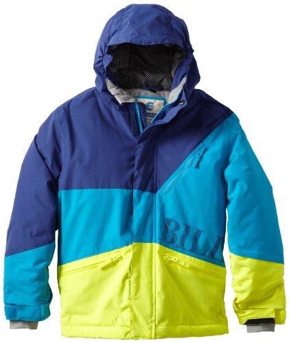 Billabong Little Boys' Buddy Jacket, Bubble Blue, Medium front-801600