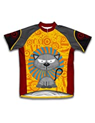 Fearless Feline Short Sleeve Cycling Jersey for Women