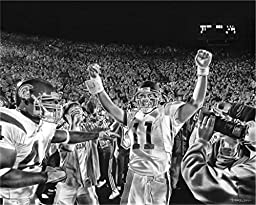 Victory Canvas Print By Dave Hobrecht
