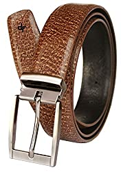 Discover Fashion Men's Leather Brown Belt (BL-CC-12)
