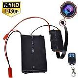 SilverSea 1080PフルHD隠しカメラ 監視カメラ 動作検知 小型ビデオカメラ 録画・録音 防犯 証拠撮影対応