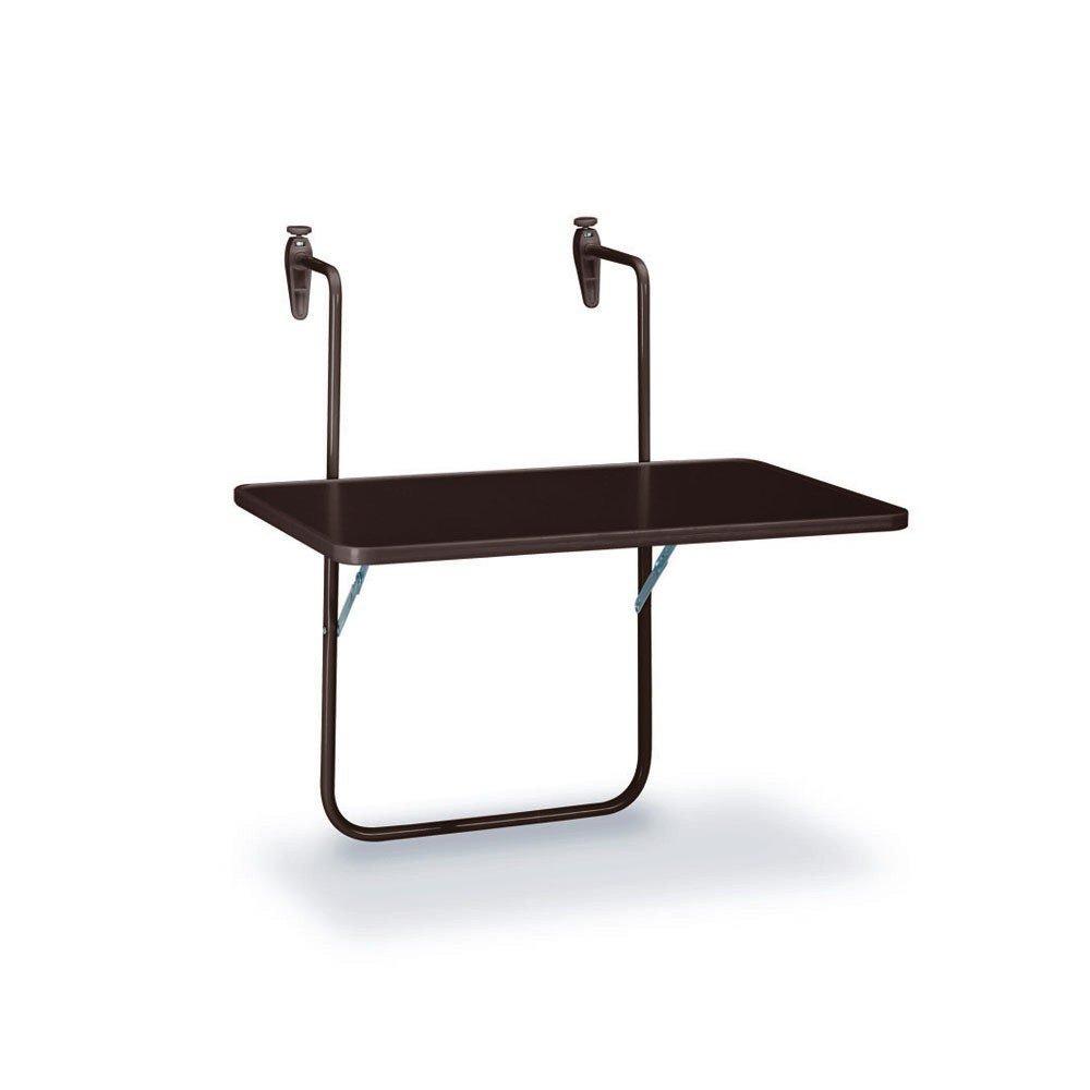 BEST 36501550 Balkon Hängetisch Butler halbrund 100 x 50 cm, anthrazit jetzt bestellen