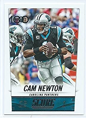 2014 Score HOT 100 254 Cam Newton M (Mint)