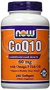 CoQ10・オメガ3魚油 240錠(海外直送品)