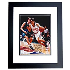 Brent Barry Autographed Hand Signed Los Angeles Clippers 8x10 Photo - BLACK CUSTOM...