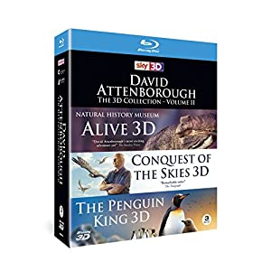 David Attenborough The 3D Collection - Volume II [Blu-ray]