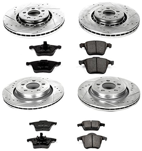 Power Stop K4502 Front and Rear One-Click Brake Kit