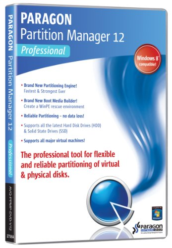 Paragon Partition Manager 12 - Professional edition [import anglais]