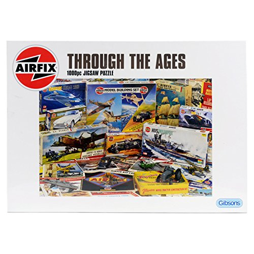 Gibsons-Airfix-Through-The-Ages-Jigsaw-Puzzle-1000-Pieces