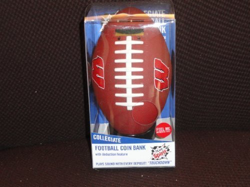 Collegiate Football Coin Bank by Team Spirit by Team Spirit günstig online kaufen