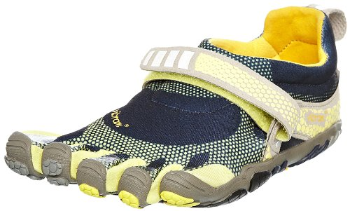 Vibram FiveFingers Women's Bikila Navy/Yellow Trainer 5F/W3424NY-37 4.5 UK