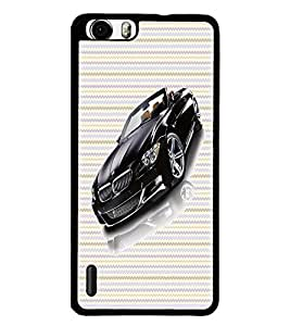 PrintDhaba Car D-6042 Back Case Cover for HUAWEI HONOR 6 (Multi-Coloured)
