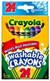 Crayola Washable Crayons 24 Count - 2 Packs