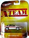 Corvette `80 The A-Team 1:64 Hot Wheels