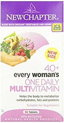 New Chapter Every Woman's One Daily 40-Plus Multi-Vitamin Tablet, 96-Count