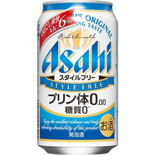 アサヒ スタイルフリー 【プリン体ゼロ】 350ml×24本