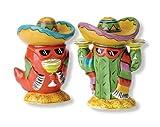 Clay Art Dos Amigos Salt and Pepper