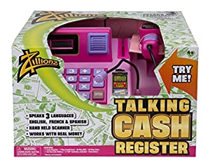 Zillionz Pink Talking Cash Register