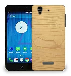 Snoogg Textura De Madera Printed Protective Phone Back Case Cover For Micromax Yu Yureka