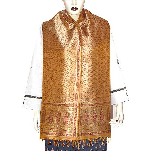 Indian Scarf Premium Silk Clothing For India 55 x 182 Cms
