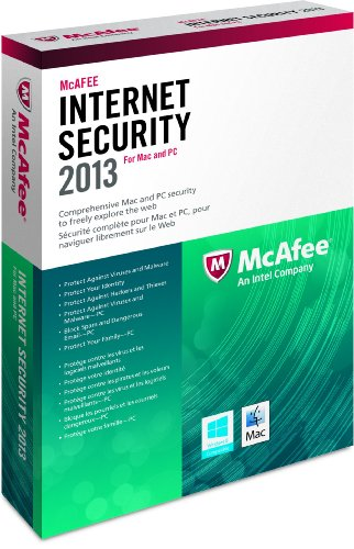 MCAFEE INC MCAFEE DUAL PRON FOR MAC-WIN 1PC 2013