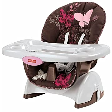 Fisher-Price Space Saver High Chair (Mocha Butterfly)