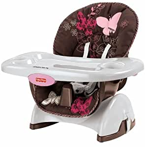 mocha butterfly space saver high chair baby