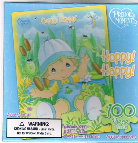 Precious Moments Hoppy Happy 100 Piece Puzzle
