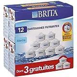 Brita - lo7324 - Pack de 12 cartouches maxtra (9+3 gratuites) pour carafe filtrante Maxtra